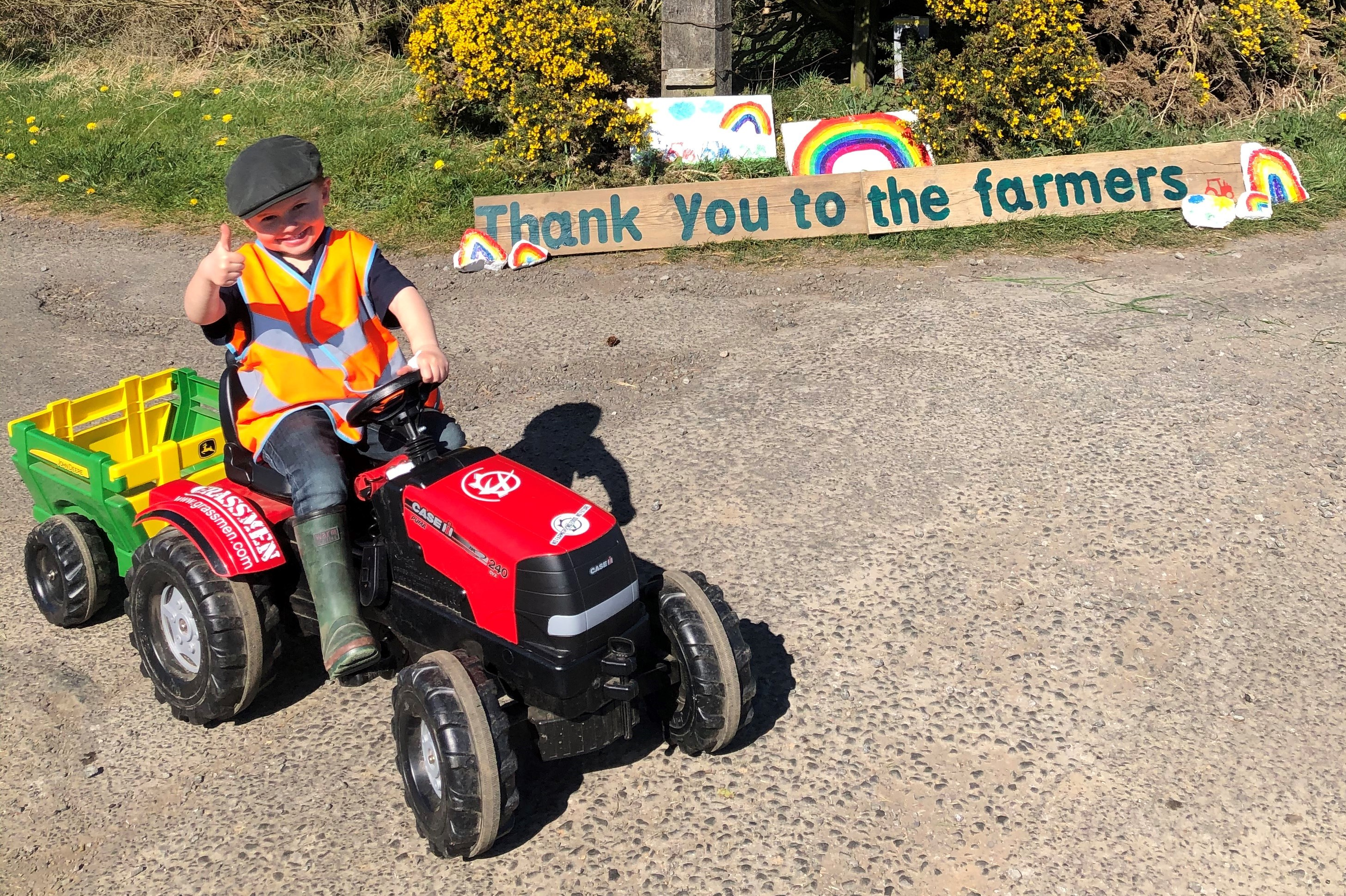 Warm Welly Company promotes the countryside and home learning with 4-year-old Farmer Sam