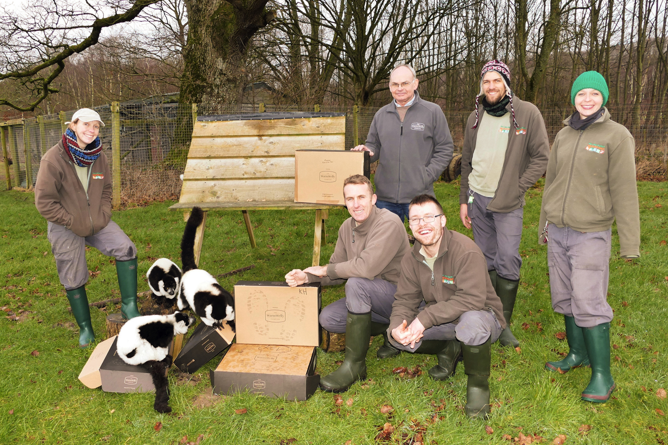 Keepers go wild and fall in love with Warm Wellies