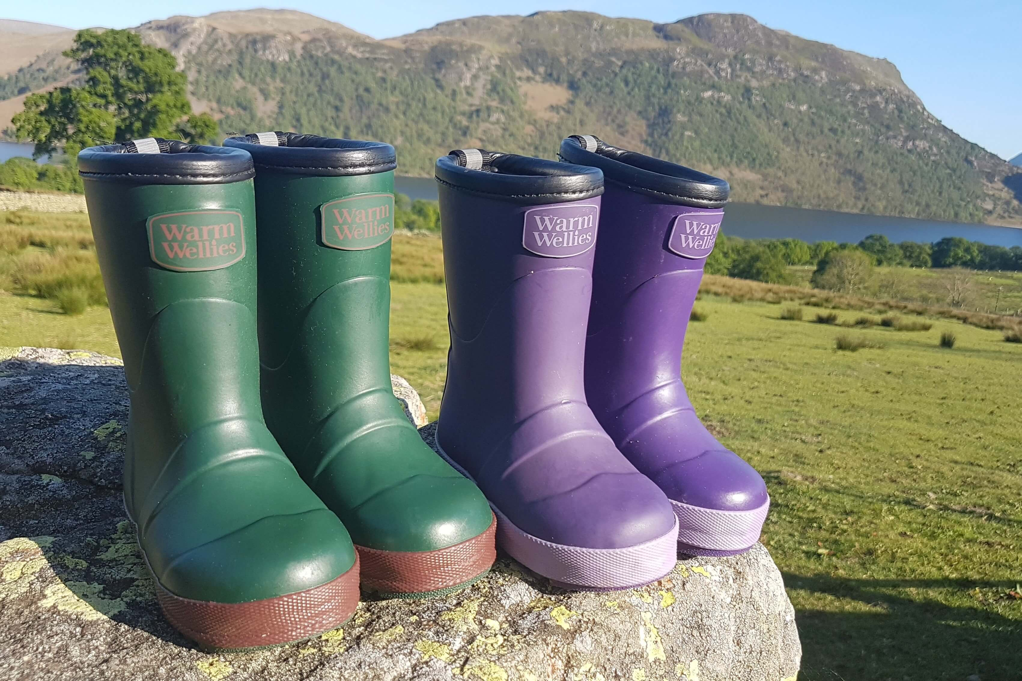 Time to tog up your toddlers in warm wellies