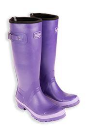 Purple Adult Neoprene Lined Field Warm Wellies