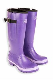 Purple Ladies Wide Warm Wellies